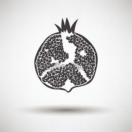 icon of pomegranate icon of pomegranate