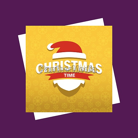 merry christmas cards with creative design