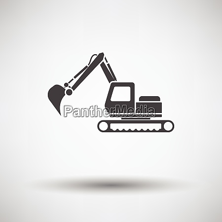 icon of construction excavator icon of