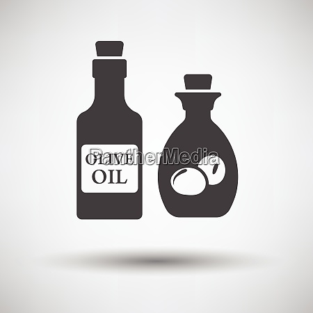 bottle of olive oil icon on