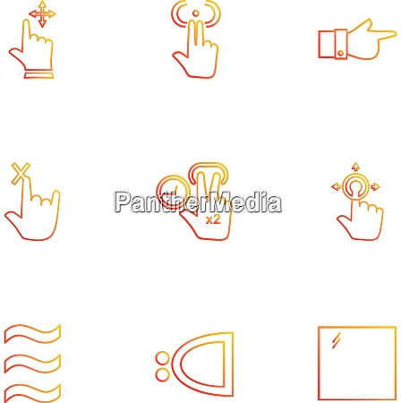 hands pointer arrows