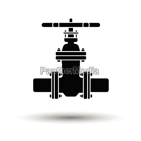 ultrasound diagnostic machine icon shadow reflection