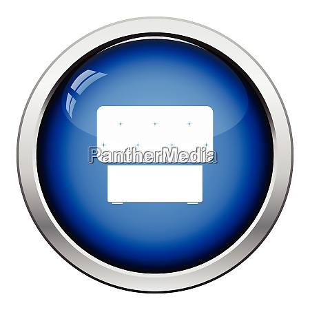 bedroom pouf icon glossy button design