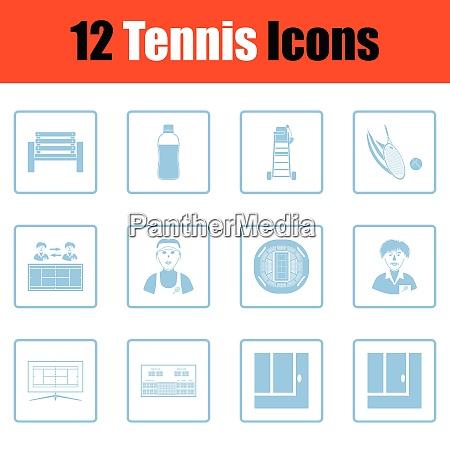 tennis icon set tennis icon set