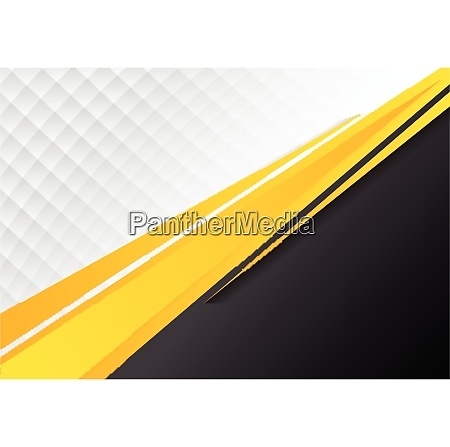template corporate concept yellow black grey