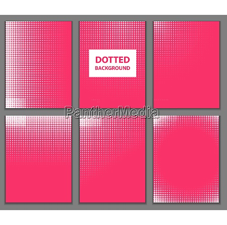 abstract dotted background vector illustration eps10