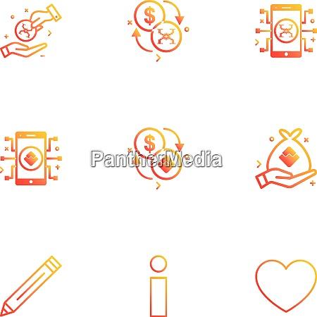 pencil inforamation heart