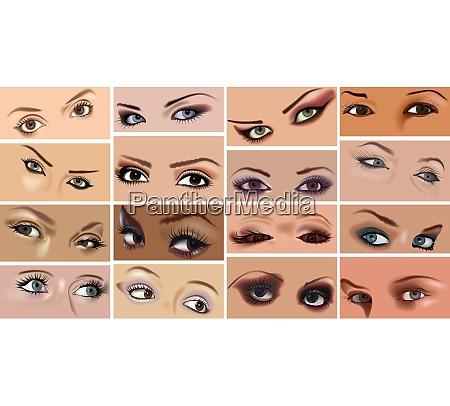 eyes makeup set