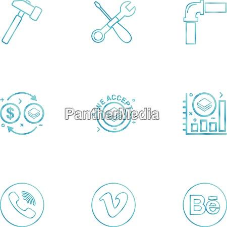 hammer wrench screwdriver