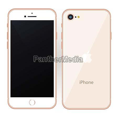 mobile phone mokeup design vector