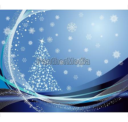 beautiful vector christmas new year card