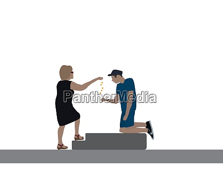 a good woman delivers a disabled
