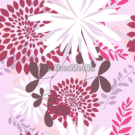 vector grass silhouettes background all objects
