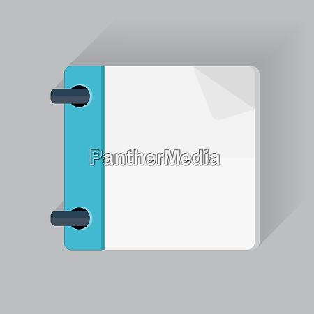 calendar flat daily icon template vector