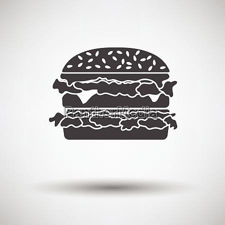 hamburger icon hamburger icon on gray
