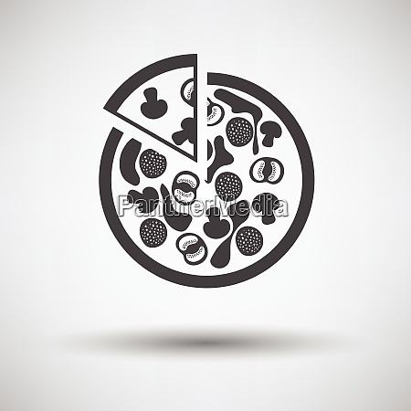 pizza on plate icon pizza on