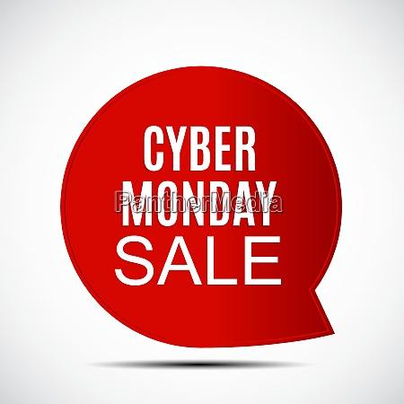 cyber monday sale deals design template
