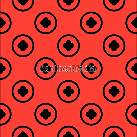 simple seamless circle pattern