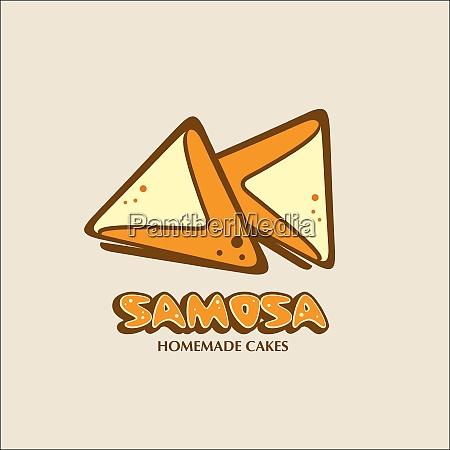 samosa vector logo a home bakery