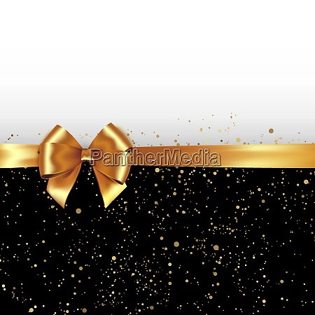 vector golden glitter background with gold