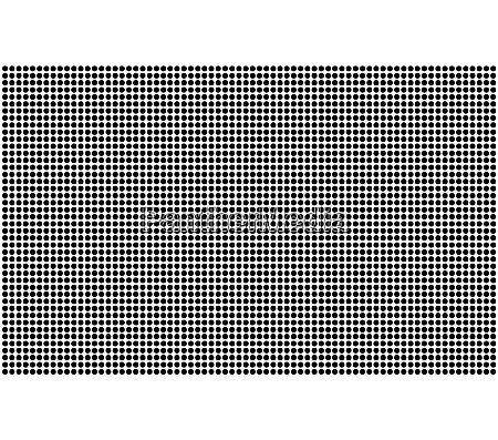 half tone spots