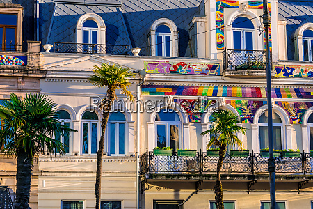 architecture of batumi in autonomous republic
