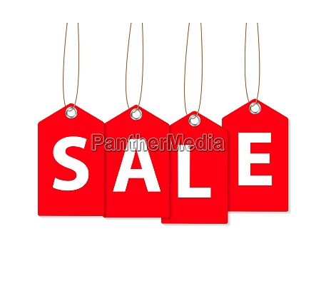sale banner isolated on white vector