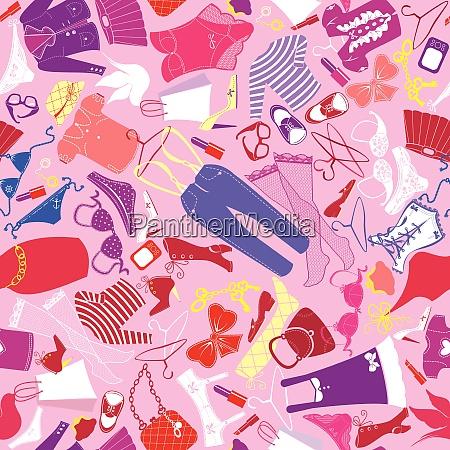 seamless pattern for fashion design