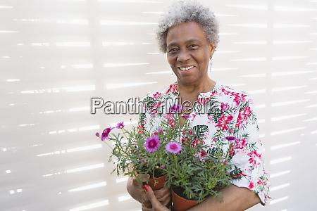 portrait smiling confident active senior woman