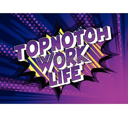 topnotch work life comic book