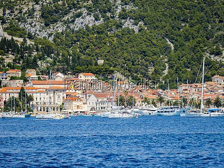 croatia adriatic coast dalmatia hvar coastal