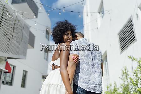 usa florida miami beach young couple