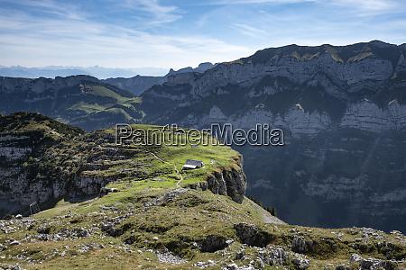 switzerland appenzell alp chlus on zisler