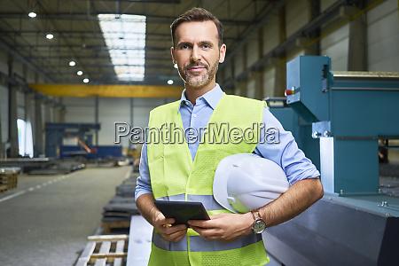 portrait of confident man wearing shirt