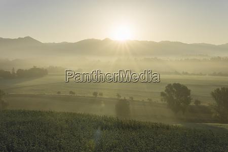 italy tuscany borgo san lorenzo sunrise