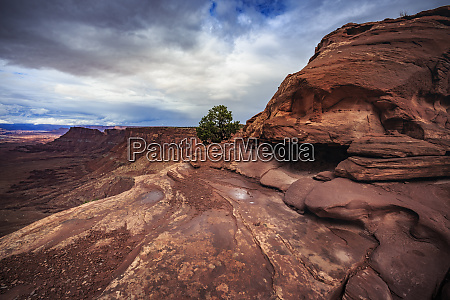 usa utah canyonlands national park the