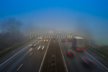 motorway a 46 traffic in the
