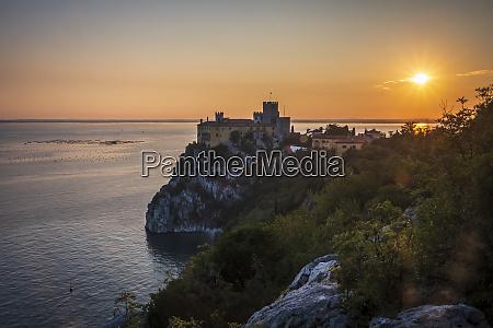italy friuli venezia giulia triest castel