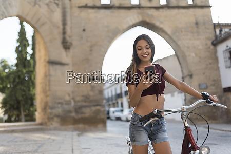 spain baeza portrait of young woman
