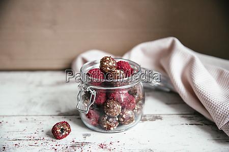 energy balls in preserving jar date