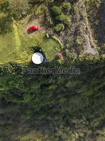 indonesia bali aerial view of nyang