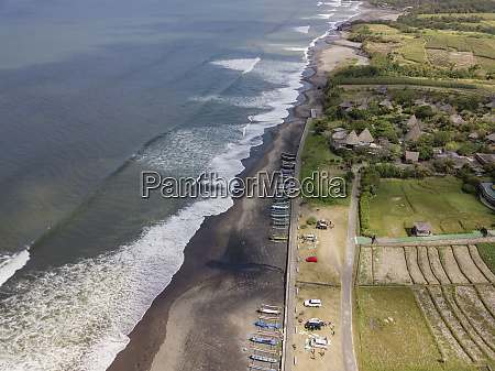 indonesia bali aerial view of yeh