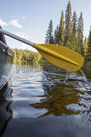 finland oulanka national park boat trip