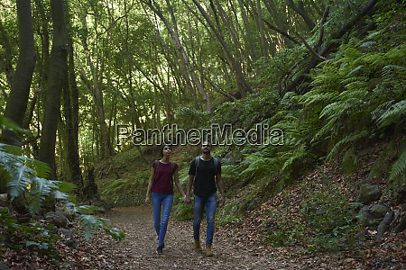 spain canary islands la palma couple