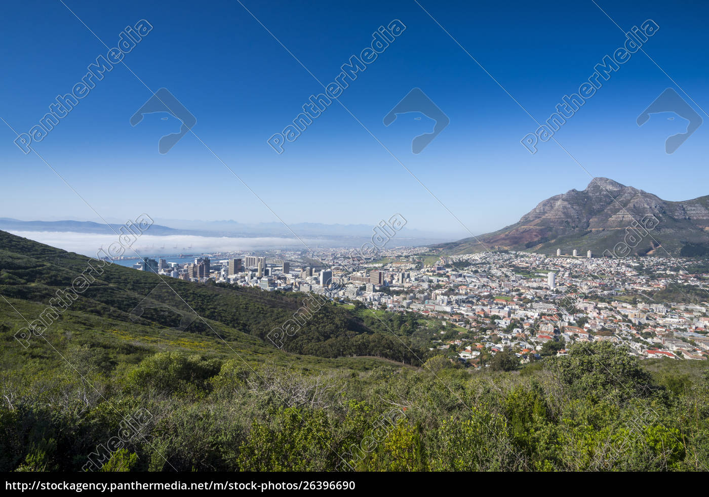 south, africa, , cape, town, , city, view - 26396690