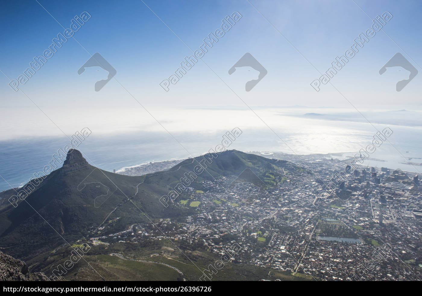 south, africa, , cape, town, , city, view - 26396726