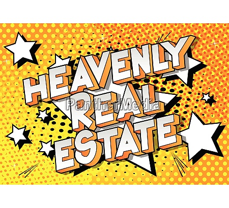 heavenly real estate comic book