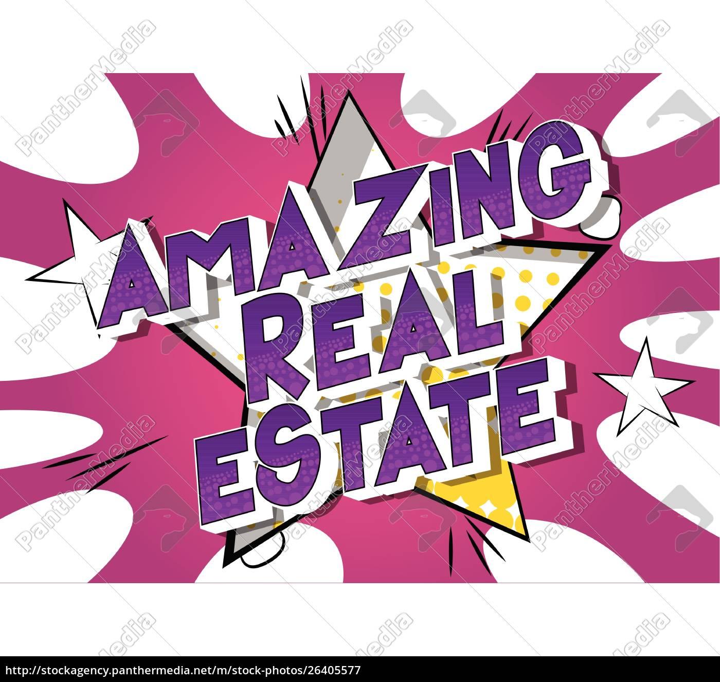 amazing, real, estate, -, comic, book - 26405577