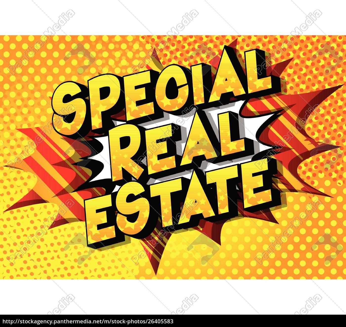 special, real, estate, -, comic, book - 26405583