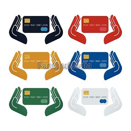 credit card in safe hands